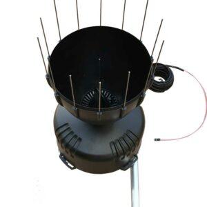 Mise à disposition de pluviomètre enregistreur, pour la saison