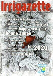 Page de couverture de l'irrigazette 176