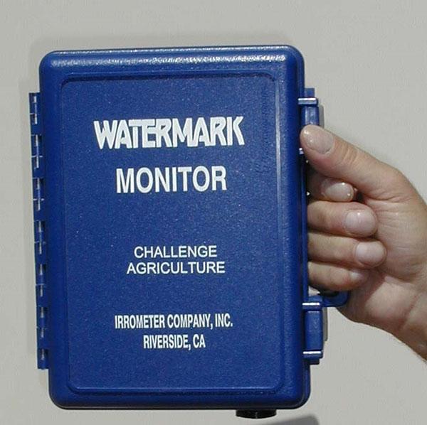 monitor watermark et pilotage d'irrigation du melon